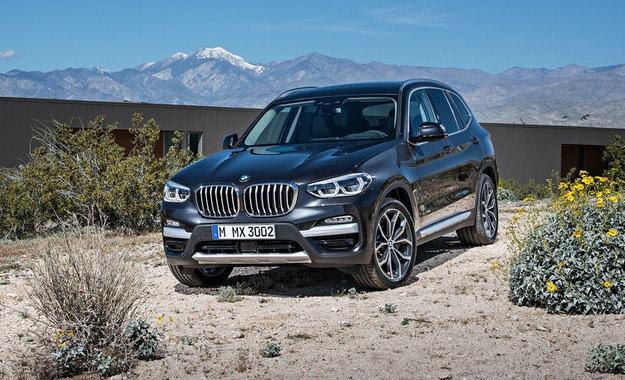 BMW представи новото поколение на кросоувъра X3