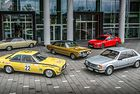 Opel чества 50 години Commodore на Silvretta Classic