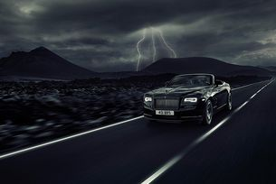 Rolls-Royce разшири серията Black Badge с кабриолета Dawn