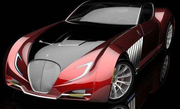 В САЩ разработват купе с 1000 к.с. в стил Арт Деко