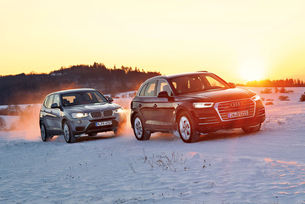 Audi Q5 срещу BMW X3