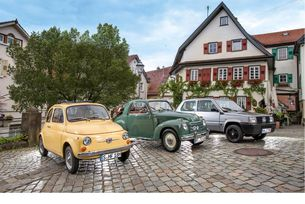 Fiat 500 Topolinо, Fiat 500, Fiat Panda: Малкият италианец