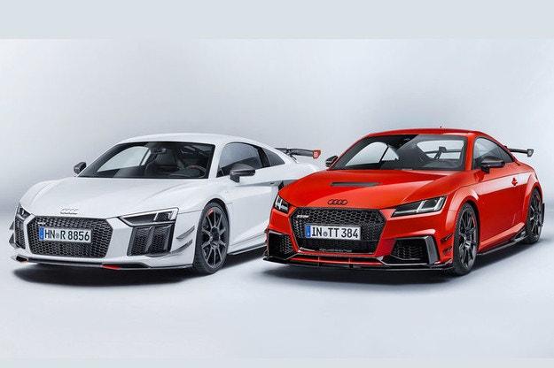 Audi TT и R8