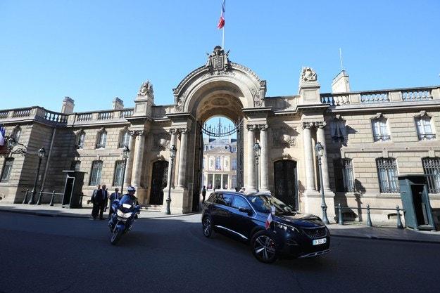 Първа президентска проява на Peugeot 5008
