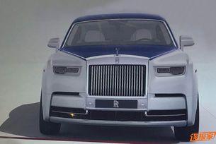 Разсекретиха дизайна на новия Rolls-Royce Phantom