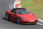 Заснеха без камуфлаж най-бързото Porsche Boxster 718