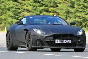 Aston Martin тества най-мощната версия на DB11