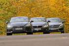 Audi A5 Coupe, BMW 4 Coupe, Mercedes C Coupe