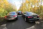 Три купета: Audi A5 v/s BMW Серия 4 и Mercedes C-класа
