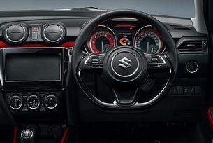 Suzuki показа салона на спортната версия на Swift