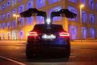 Tesla Model X P90D: Теория на абсурда