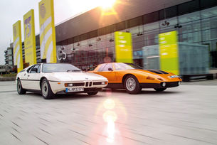 BMW M1 и Mercedes-Benz C 111: Дуел на гиганти