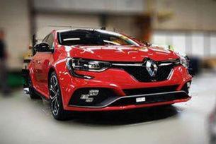 Издебнаха новото Renault Megane RS без камуфлаж