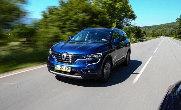 Renault Koleos: Другото ми име е Samsung