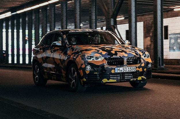 Новото  BMW X2 дебютира на салона във Франкфурт