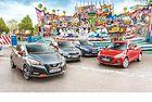 Kia Rio, Nissan Micra, Skoda Fabia, Suzuki Swift: Малчугани
