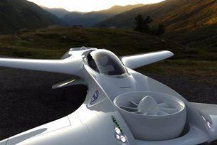 DeLorean представи проект на летящ автомобил
