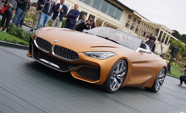 BMW представи Concept Z4 в Пебъл Бийч
