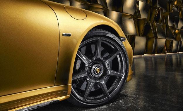 Карбонови джанти за Porsche 911 Turbo S
