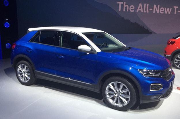Volkswagen представи компактния офроудър T-Roc