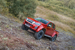 Обновиха пикапа  Isuzu D-Max Arctic Trucks AT35