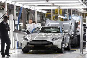 Aston Martin отбелязва рекордни продажби