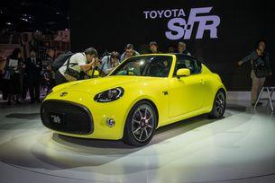Toyota представя няколко спортни автомобила наведнъж