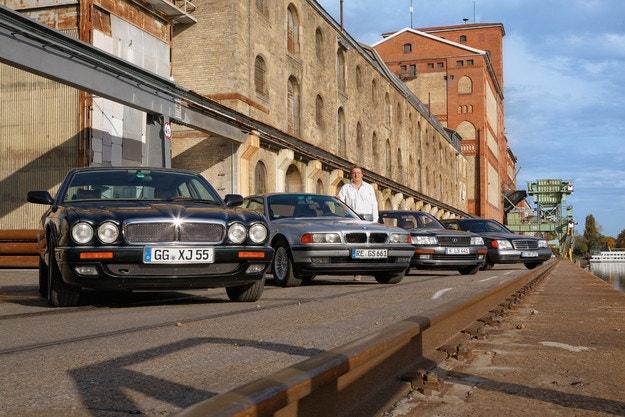 Елитът на 90-те: BMW 740i, Jaguar XJ6 4.0, Mercedes 500 SE и Lexus LS 400