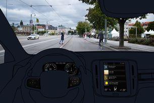 Volvo разкри електронните системи в новия XC40