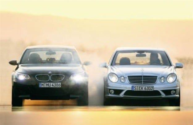 Mercedes E 63 AMG vs. BMW M5