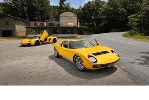 Lamborghini Miura и Aventador: Среща на поколенията