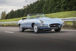Представят електричиския Jaguar E-Type Concept Zero