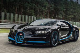Bugatti Chiron постави рекорд за ускорение до 400 км/ч