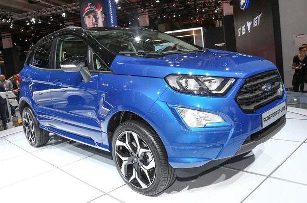 Обновеният Ford EcoSport с нов дизелов двигател