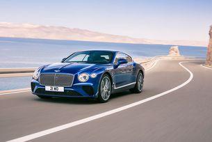 Впечатляваща премиера на Bentley Continental GT