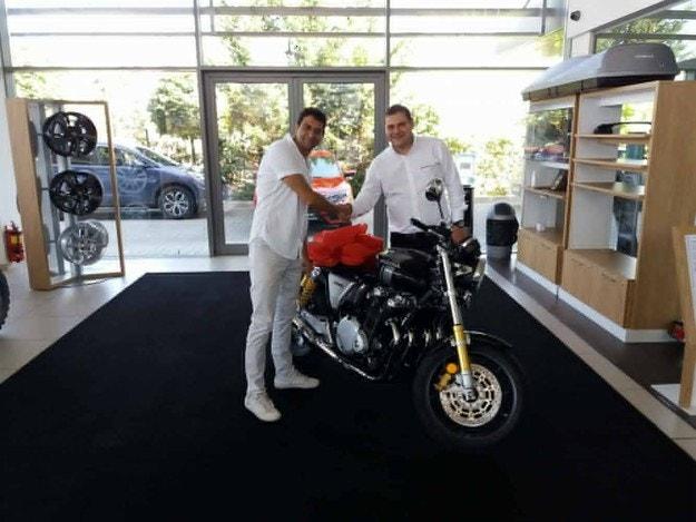 Столичен доктор се сдоби с Honda CB 1100 RS