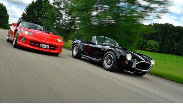 Shelby Cobra 427, Dodge Viper RT/10: С груба сила