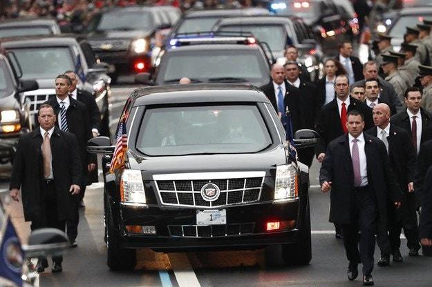 Какво знаем за лимузината на Доналд Тръмп