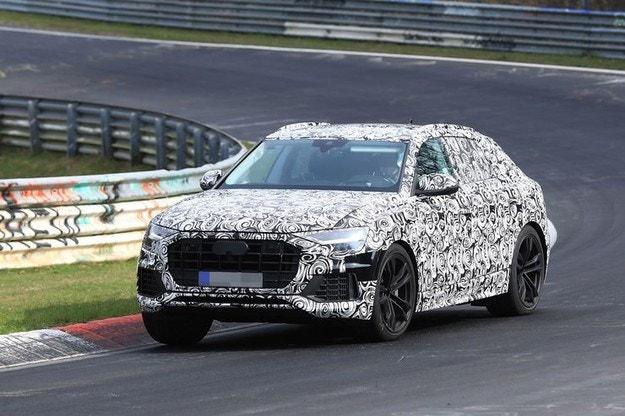 Очакваме новото Audi Q8 (2018) и като SQ8