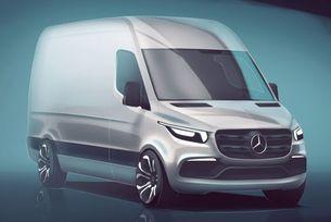 Mercedes показа eкстериора на новия Sprinter