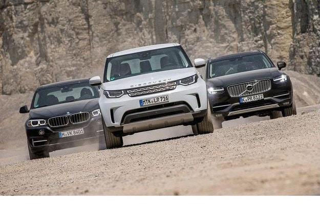 BMW X5, Land-Rover Discovery и Volvo XC90: Висша лига