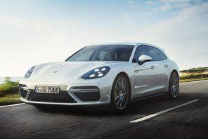 Porsche представя хибридно комби с 680 к.с.