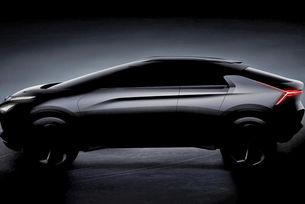 Mitsubishi разсекрети дизайна на нов кросоувър