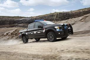 Полицейският Ford F-150 получи статут преследвач