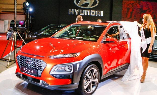 Hyundai KONA предлага най-новите технологии