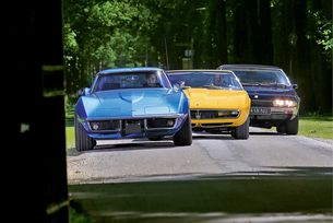 Chevrolet Corvette C3, Iso Lele и Maserati Ghibli: Клуб V8