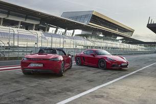 Porsche представи най-бързите 718 Cayman и 718 Boxster