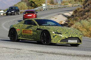 Aston Martin Vantage V8 (2018) с DB10-визия