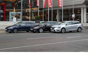 I30 Kombi срещу Mégane Grandtour и Leon ST: Hyundai в атака
