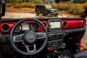 Jeep показа интериора на новия Wrangler